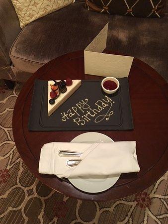 Лотте Отель Москва: Surprise left in the room by staff