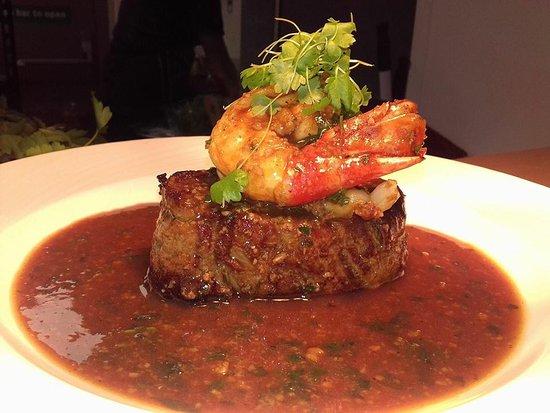 Choppington, UK: Outstanding fillet steak!