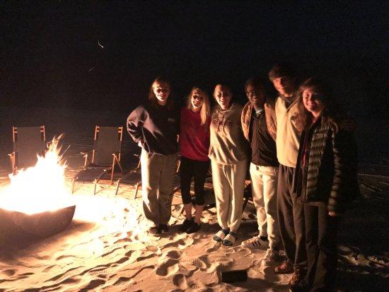 Sandestin Golf  Resort - Raven, Burnt Pine, Baytowne, The Links: Enjoying a bonfire on the beach at Sandestin!