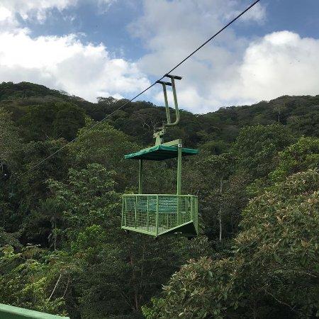 Gamboa Rainforest Resort Aerial Tram Tour: empty tram car
