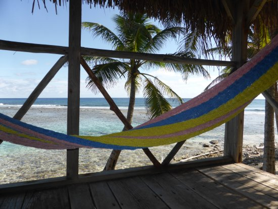 Glovers Reef Atoll, Belize: Balcony of room