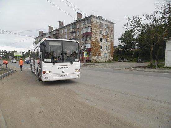 Korsakov, Rosja: loop line bus