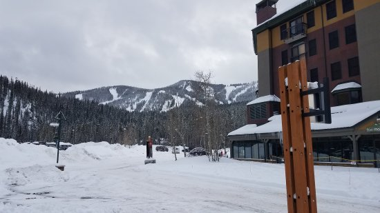The Vintage Resort Hotel & Conference Center: The slopes from just out the lobby doors