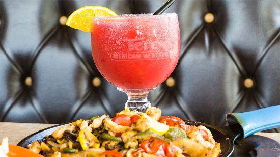 Golden Valley, MN: Every Monday enjoy a delicious meal and get margaritas at half price off.