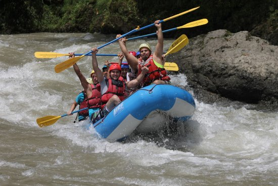 Turrialba, Costa Rica: Lovin' the white water!