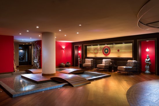 Hotel Manali : Espace d'étente au Spa