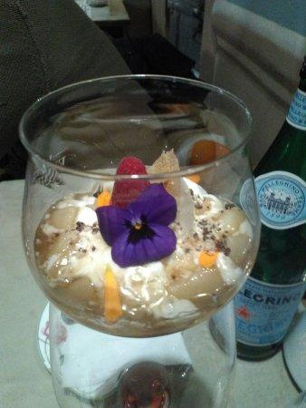 Sillavengo, إيطاليا: questo dolce è stato fatto su misura per NOI !!!!!
