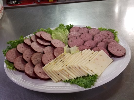 South Fork, CO: Special ordered meat & cheese tray is ready to be picked up!