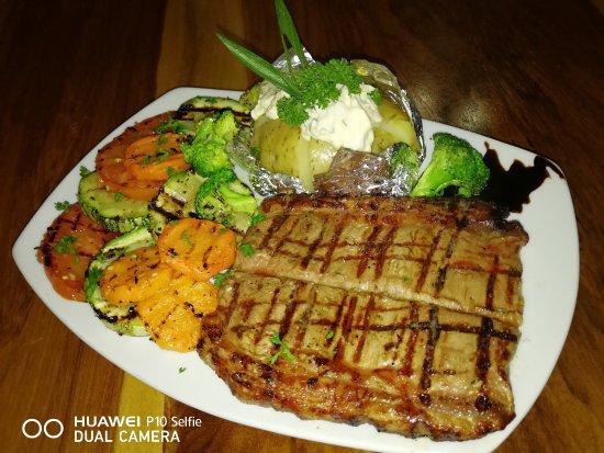 Aguacate, Costa Rica: churrasco 400 grs