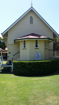Hervey Bay Historical Village & Museum: Church built in 1910. It was moved to the Museum and fully restored
