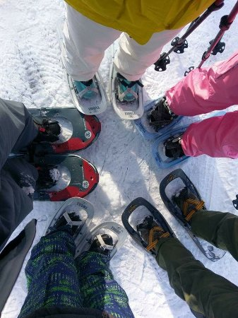 Kutchan-cho, Japan: Good times snowshoeing in Niseko
