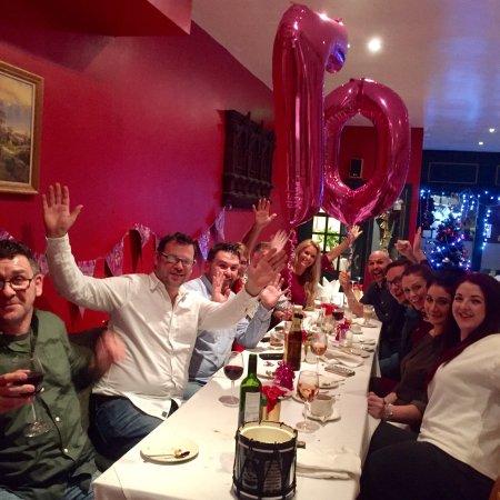 Grayshott, UK: Great venue for a Family Birthday celebration!