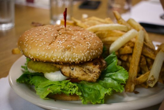 Beaver, WA: Chicken burger