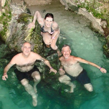 Little Bay, Jamaica: Blue Hole Mineral Spring