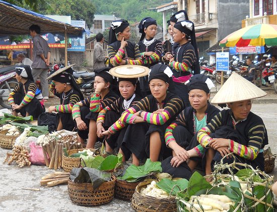 Lai Chau, Vietnam: Tam Duong Market