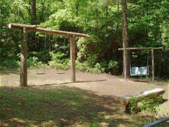 Lake Toxaway, NC: Swing Area