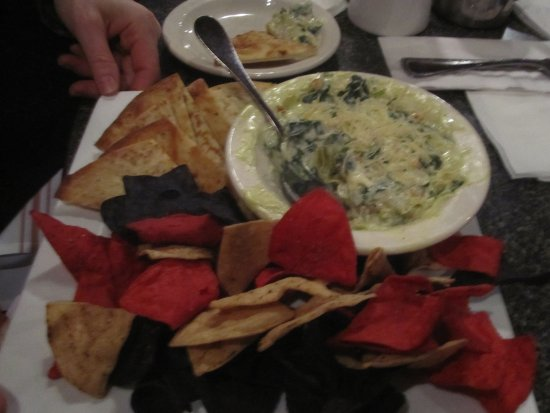 Mounds View, MN: Spinach Artichoke Dip