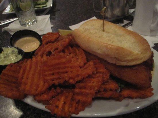 Mounds View, MN: Walleye Sandwich