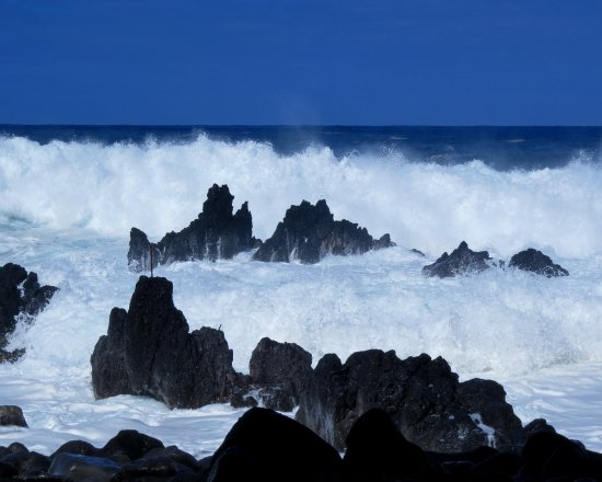 Laupahoehoe, HI: the waves!!!