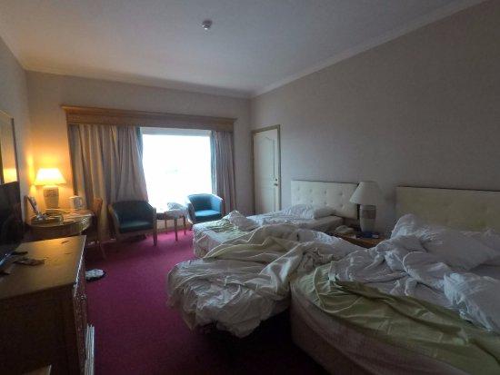 Riverside Majestic Hotel: Pardon the aftermath