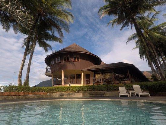 Damai Beach Resort: View from the pool