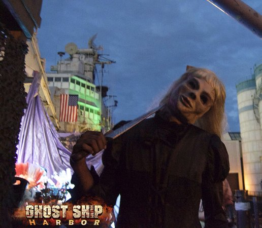 Come to the USS Salem to see our haunted house! - Picture of Ghost