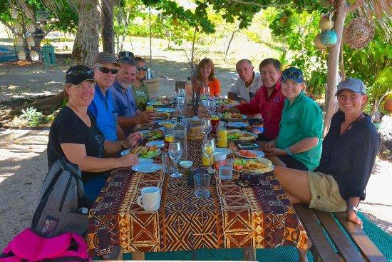 Seisia, Australia: Lunch on Roko