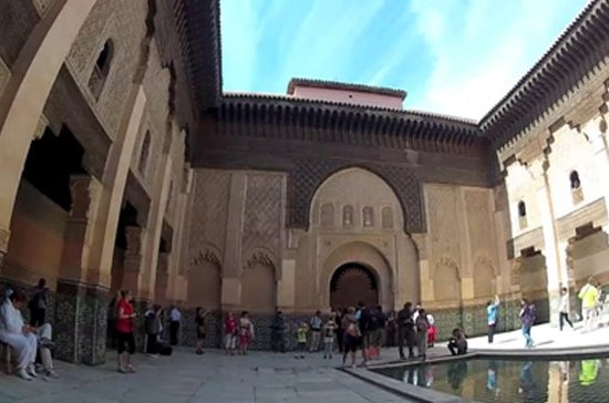 Guided sightseeing tour of Marrakech...