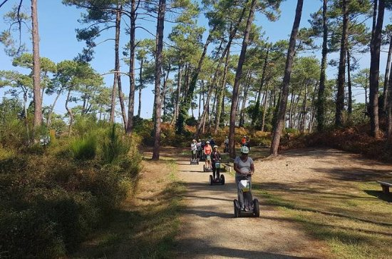 Anglet Forest Tour in Segway