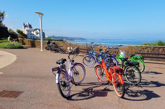 Electric bike tour...