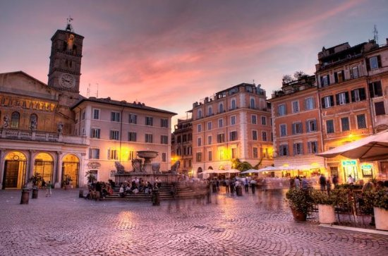 Trastevere di Notte: Roma con una