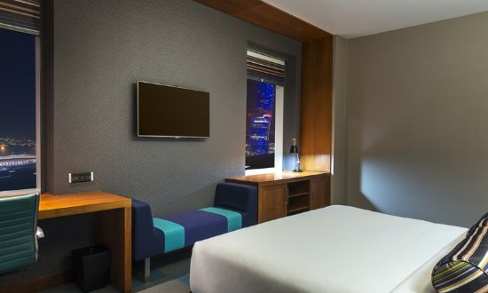 Aloft Abu Dhabi: Guest room
