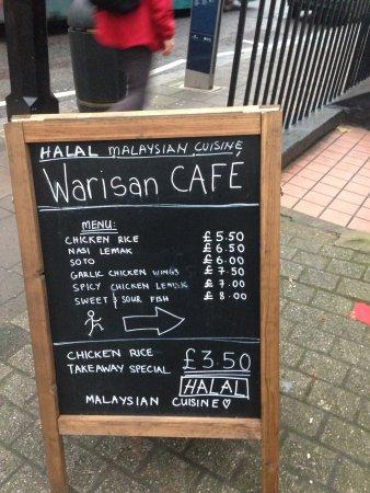 Warisan Cafe London