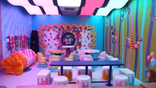 Birthday party hall Picture of Crazy Town Chandigarh TripAdvisor