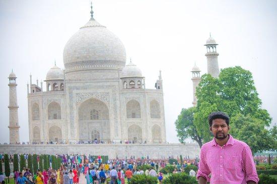 New Delhi, India: Experiencing historic moments on Taj