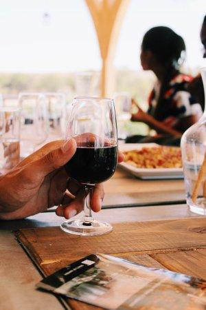 Omaruru, Namibya: 'Gravino' tasting