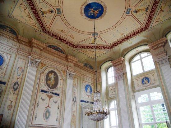 Neschwitz, Duitsland: Barockschloss innen