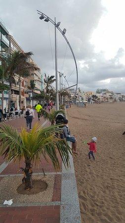 Playa de Las Canteras: 20180117_183024_large.jpg