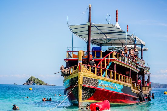 Ko Chang, Thailand: This Boat is very cool.