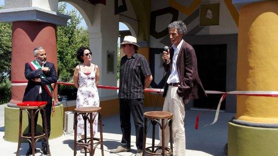 Inaugurazione Chiesetta - Tremlett - Stella - sindaco di Coazzolo