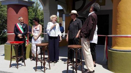 Inaugurazione Chiesetta - Tremlett - Stella - Antonella Parigi - sindaco di Coazzolo