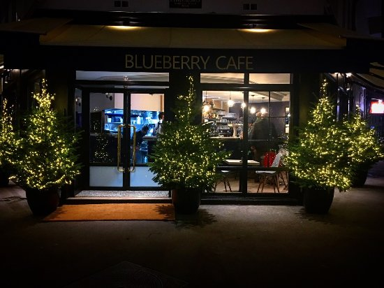 Blueberry Café : façade
