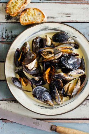 Cape Town Fish Market: Mussels