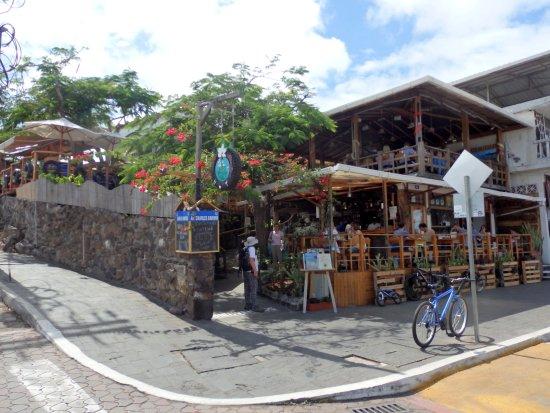 Puerto Ayora, Restaurante Il Giardino.