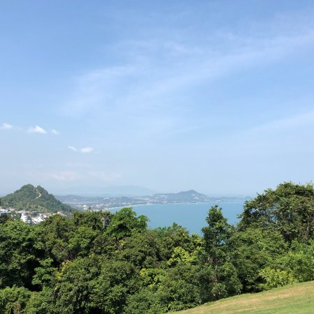 Royal Samui Golf and Country Club: Panorama view from Teebox 2