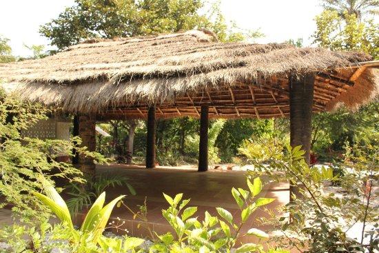 Gunjur, Gambia: The Yoga Area
