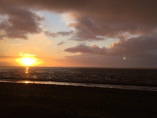 Sunset over Snettisham