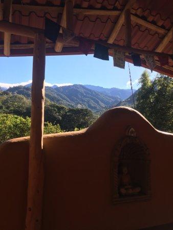 San Gerardo, Costa Rica: View from yoga