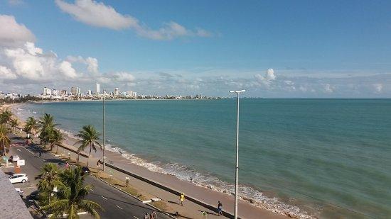 Verdegreen Hotel: vista de Manaíra a partie da varanda do hotel