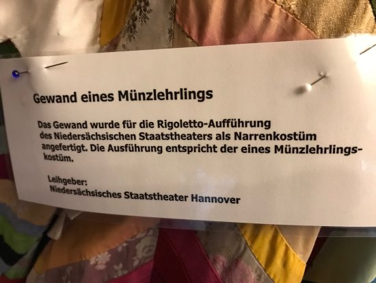 Alte Münze Museum: Info